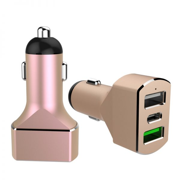 3 port car usb charger 11