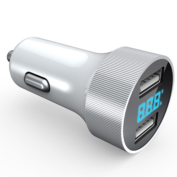 usb car charger led 15